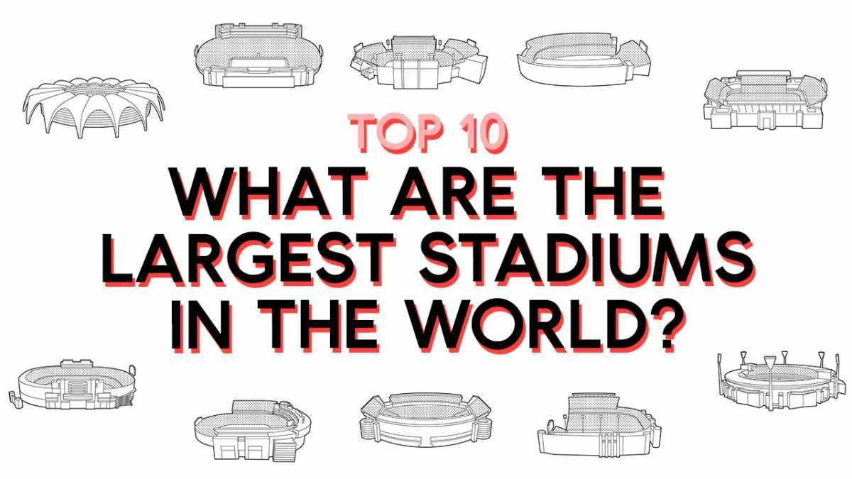 Top 10: What are the largest stadiums in the world?
