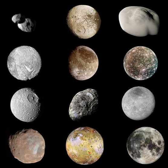 The Solar System's top 20 moons ranked. Why? Because we can… © NASA