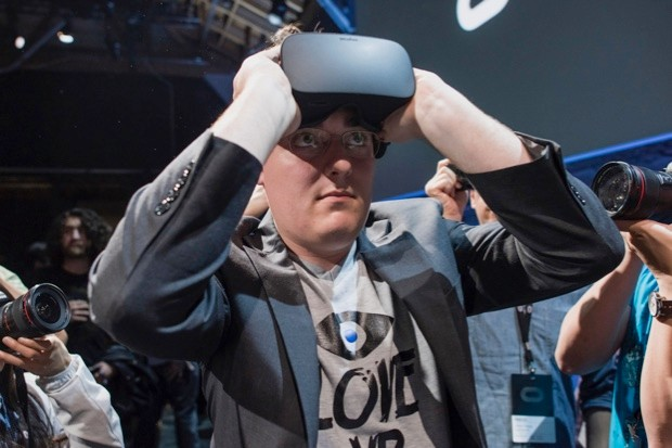 Palmer Luckey, co-founder and creator of the Oculus Rift ( © David Paul Morris/Bloomberg via Getty Images)