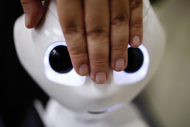 Pepper the humanoid robot (© Tomohiro Ohsumi/Bloomberg via Getty Images)