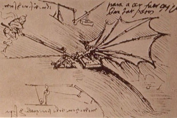 Leonardo da Vinci design for an Ornithopter