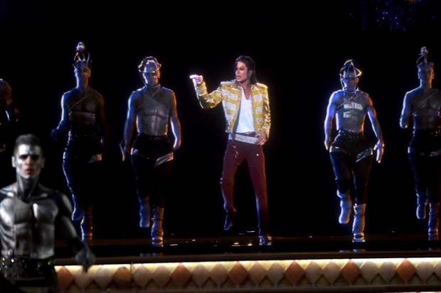 A holographic image of Michael Jackson is not the Star Wars tech we're looking for (© Kevin Winter/Billboard Awards 2014/Getty Images for DCP)
