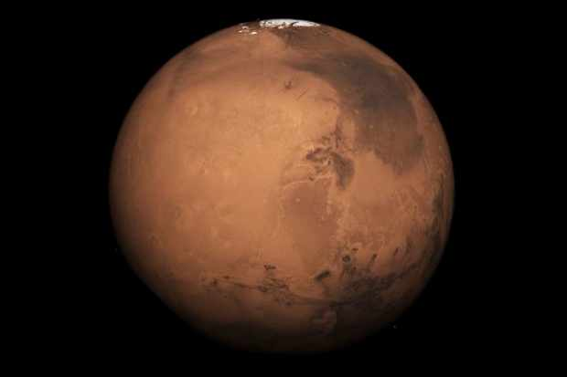Does Mars have any gravity?