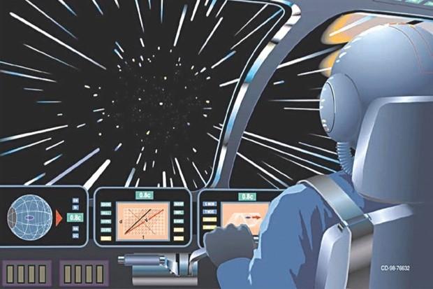 Faster-than-light hyperdrives © NASA