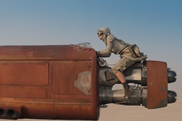 If we had a landspeeder, we'd at least give it a decent paint job... (© LucasFilm Ltd/Image.net)