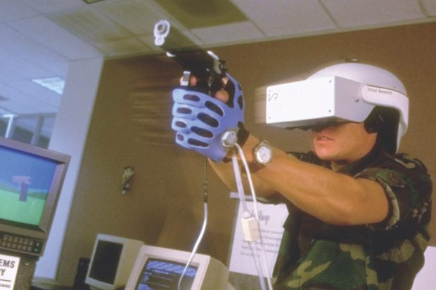 D Virtual Reality Exhibition : The history of virtual reality bbc science focus magazine