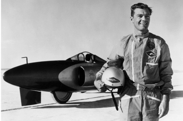 Craig Breedlove and the Spirit of America, 1963 (National Motor Museum/Heritage Images/Getty Images)