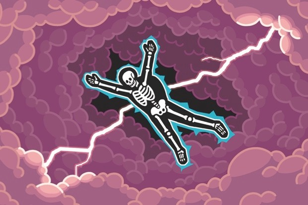 Could I survive a parachute jump through a thundercloud? - Before pulling the ripcord