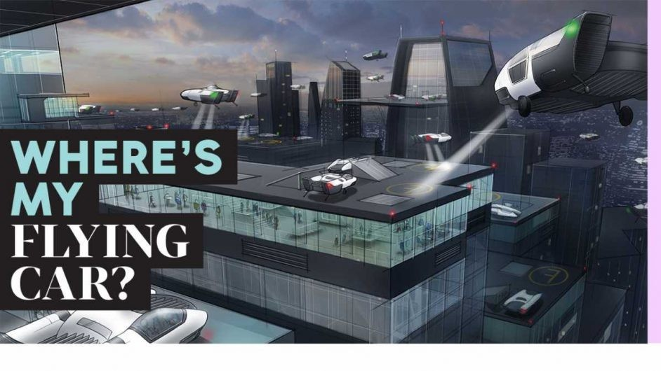 Dude, where's my flying car? 11 future technologies we're still waiting for
