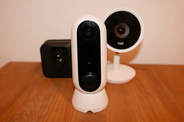 On the lookout: three top home security cameras tested - BBC