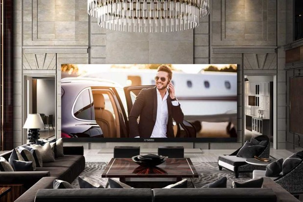 C-SEED 4K indoor TV