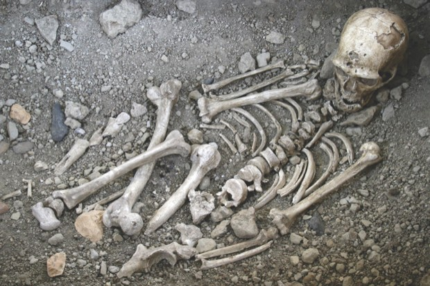 Evidence suggests that Neanderthals could have intentionally buried their dead © 120/V Mourre