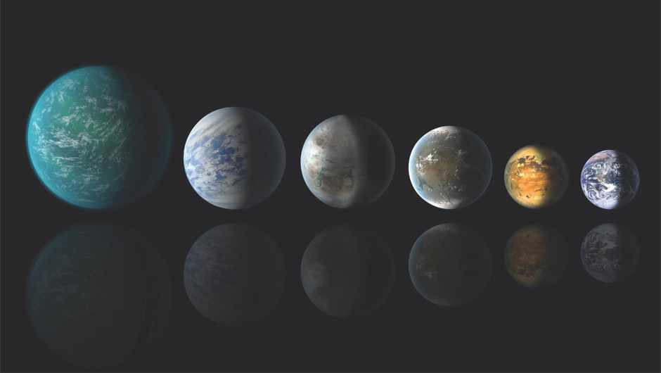 Medium-sized exoplanets may be mostly made of water © NASA/Ames/JPL-Caltech