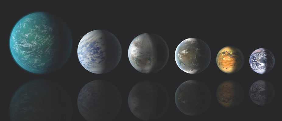 Medium-sized exoplanets may be mostly made of water © NASA/Ames/JPL-Caltech