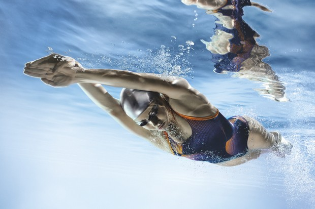 Does it take more effort to swim in the deep end of a pool than the shallow end? © Getty Images