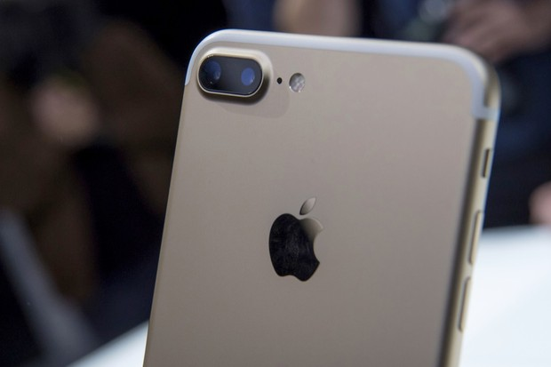 The dual cameras on the iPhone 7 Plus © David Paul Morris/Bloomberg via Getty Images