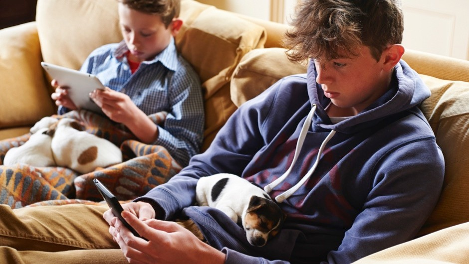 GCSE results suffer as screen time rises © Getty Images