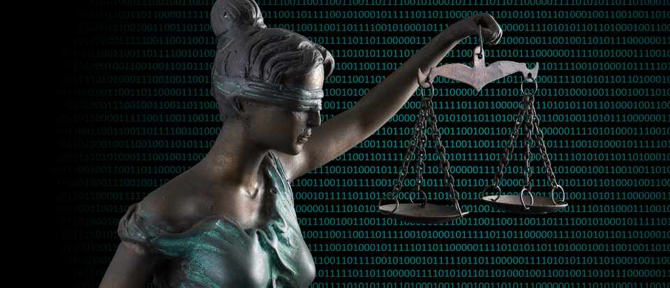 Can an algorithm deliver justice? © Getty Images