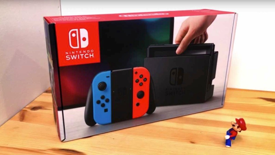 Testing the tech in the Nintendo Switch