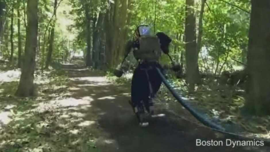Boston Dynamics' latest Atlas robot seen in the wild © Boston Dynamics