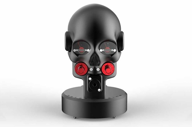 Marquis 'Momento Mori' headphone amplifier