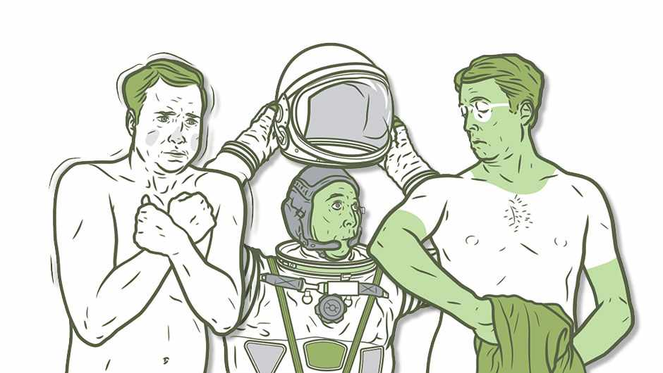 What if humans had chlorophyll in their skin? © Moron Eel