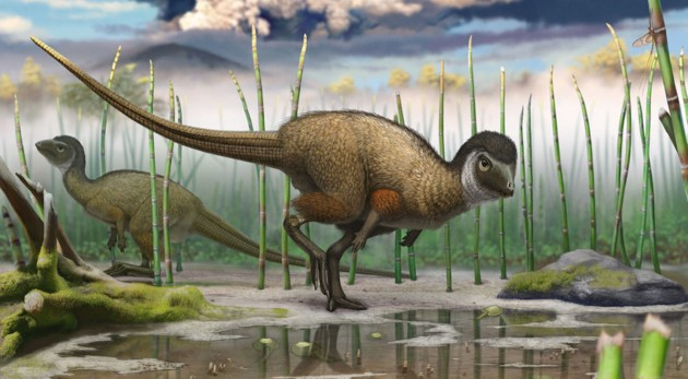An artist's impression of the newly-discovered dinosaur (illustration: Andrey Atuchin)