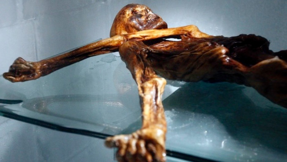 Were Otzi the Iceman's ancestors from Asia? © Getty Images