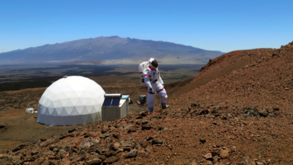 What would astronauts eat on Mars? © Angelo Vermeulen