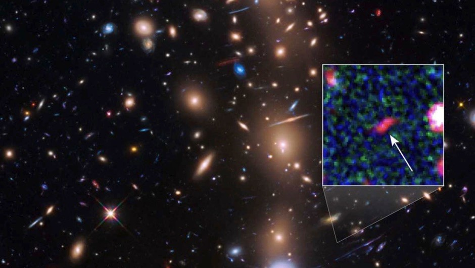 NASA telescopes spot faintest galaxy in the Universe © NASA