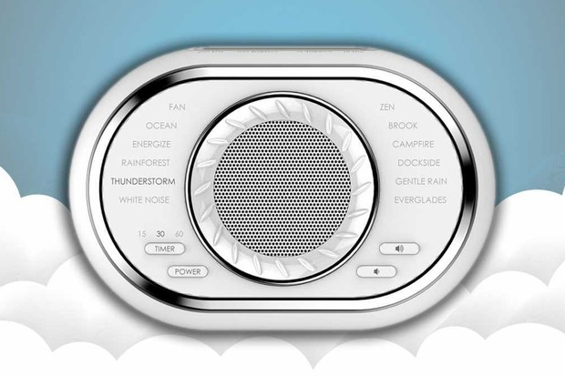 HoMedics SoundSpa Ultra Portable Rechargeable Sound Machine