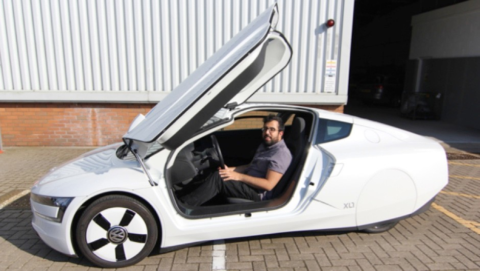 Volkswagen XL1 first test – the world's most efficient production car