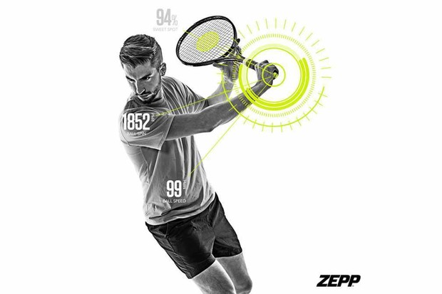 Zepp Tennis 2 Swing and Match Analyzer