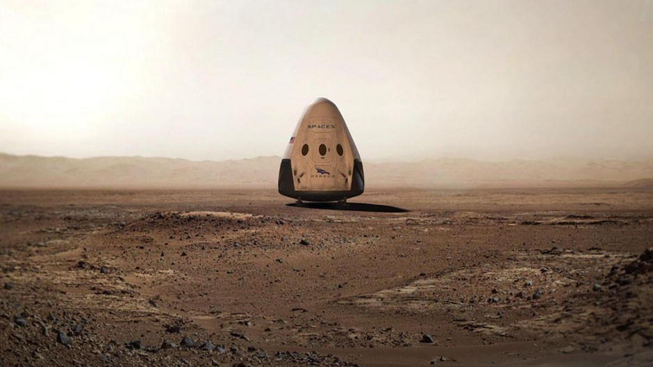 SpaceX plans to land on Mars by 2018 © SpaceX/Flickr