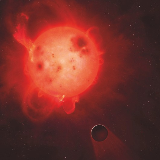 F3N5KE Kepler 438 and rocky planet 438b