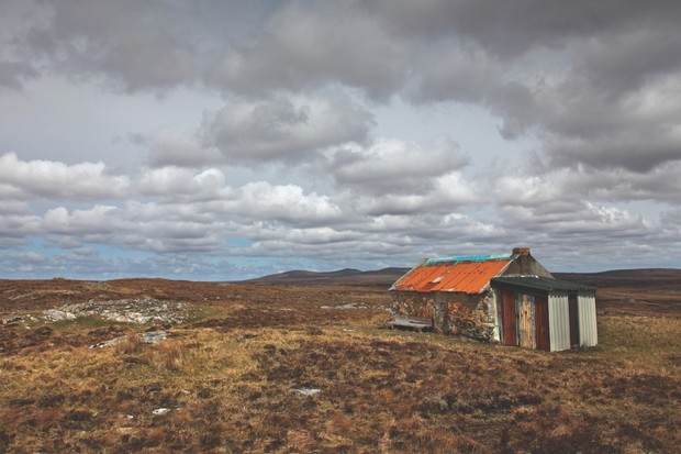 Lewis, in Scotland's Outer Hebrides, has a long tradition of using peat for fuel (© Alamy)