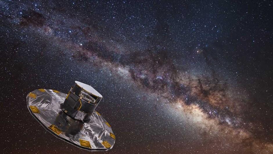 Biggest ever sky map shows 1,000,000,000 stars © ESA