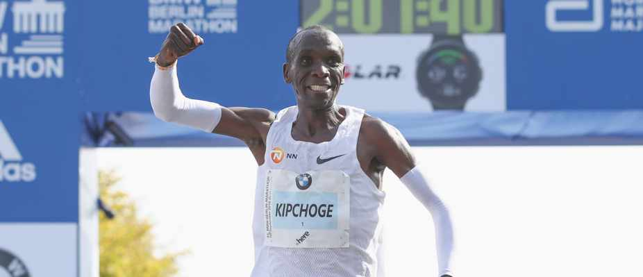 Berlin Marathon Kipchoge Pace