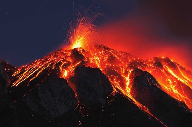 Volcano blamed for first mass extinction © Getty Images