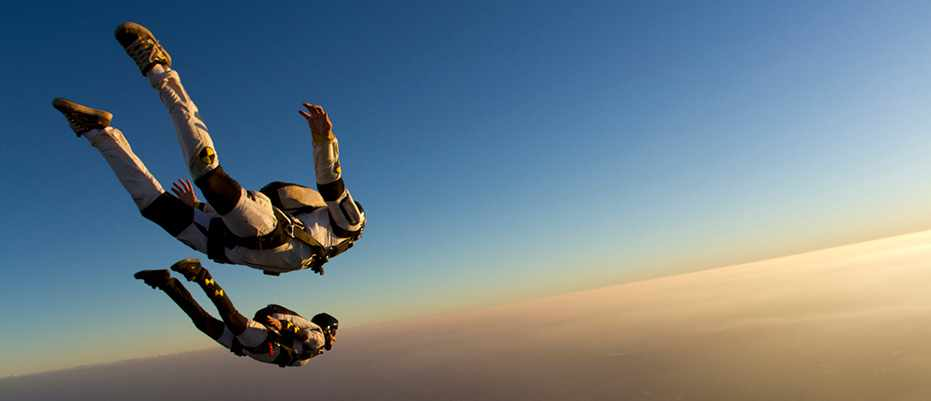 The highest skydive in history © Getty Images