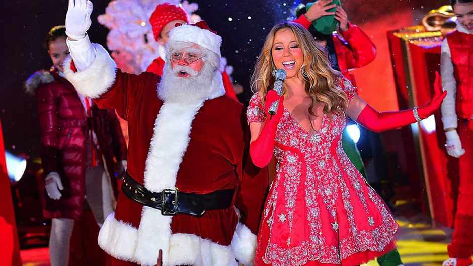 Christmas and Carey - a match made in heaven © Getty Images
