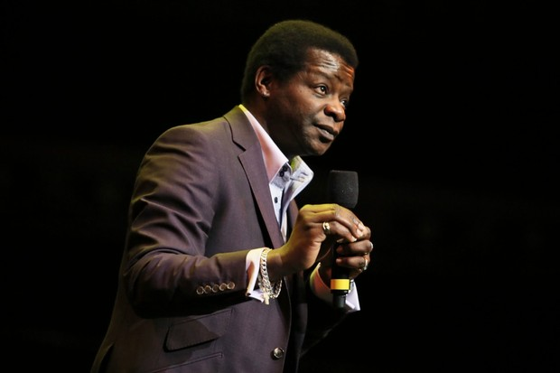 Stephen K Amos performs on stage as part of the The Prince's Trust comedy gala We Are Most Amused at Royal Albert Hall © Christie Goodwin/Getty Images