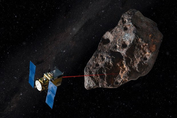 "All we need to do is go to the asteroid and give it a little nudge."" © Getty"