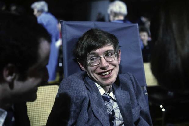Cosmologist Stephen Hawking on 10 October 1979 in Princeton, New Jersey, USA © Santi Visalli/Getty Images