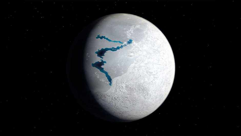 Snowball Earth evidence points to volcanoes © Getty Images
