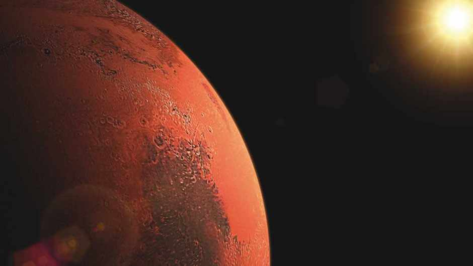 Is Mars really heating up quicker than Earth? © Getty Images