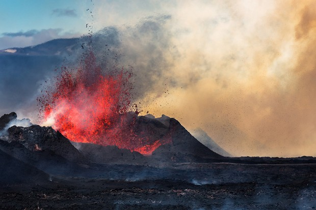Bardarbunga Volcano, Iceland, August 29, 2014 © Getty Images