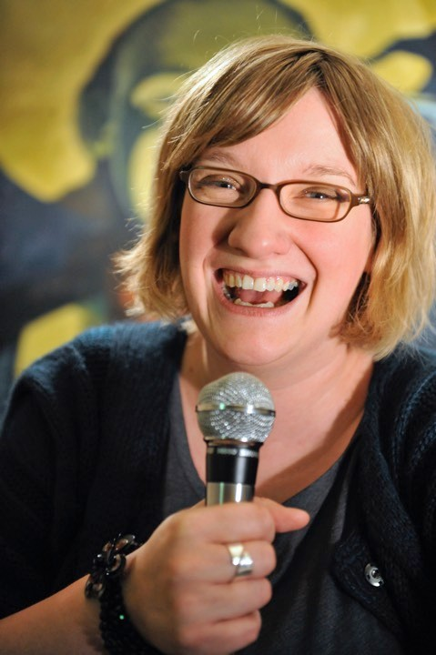 Stand-up comedian Sarah Millican performing at the Stand Comedy Club as part of the Edinburgh Festival Fringe © Robbie Jack/Corbis via Getty Images)