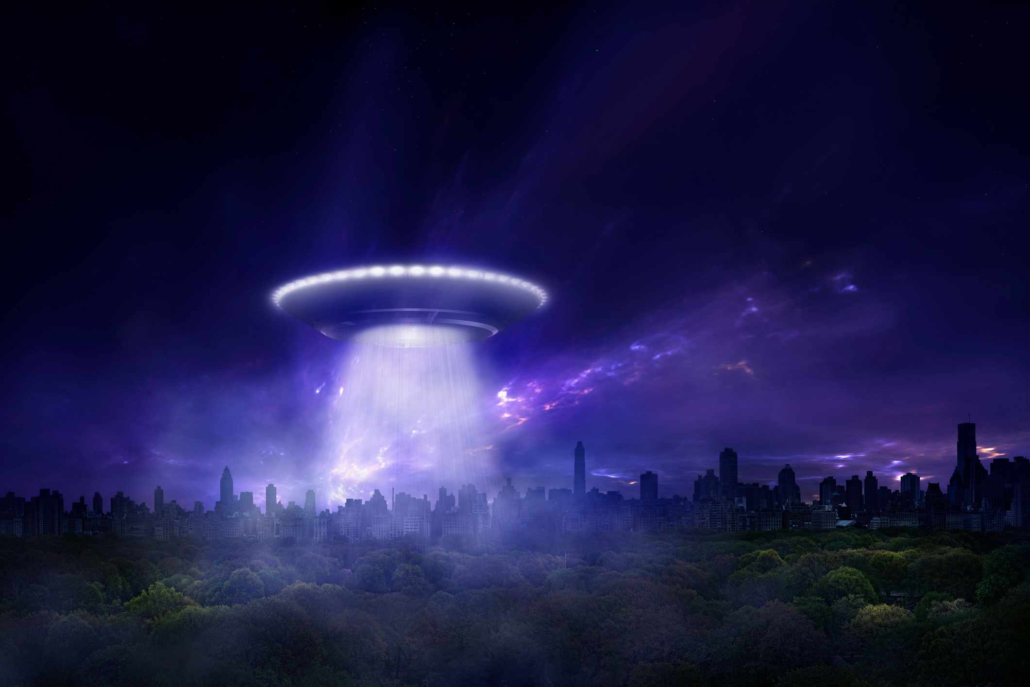 The thought experiment: What would happen if aliens contacted us? © Getty Images