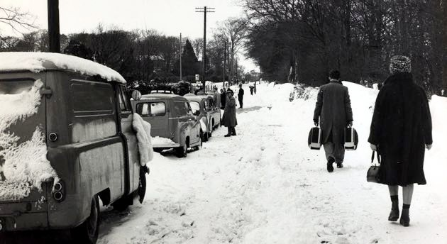 Temperatures in the United Kingdom reached -16ºC in 1962 (Popperfoto/Getty)